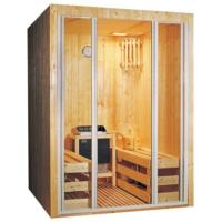 Wholesale Outdoor Portable Sauna Room Red Cedar Barrel Sauna Room For 4 People from china suppliers