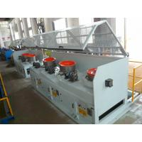 Quality High Speed Straight Line Wire Drawing Machine Ø6.5mm - Ø5.5mm Inlet Diameter LZ10--560 for sale