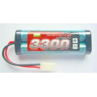Buy cheap R/C Toys NI-MH Battery Packs 3300mAh 7.2V Rechargeable batteries  from wholesalers