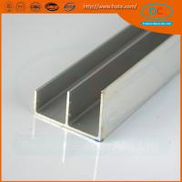 Wholesale Indian hot sell ss  brush aluminum window profile, Matt aluminum window section, window profile from china suppliers