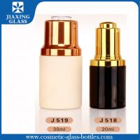 China 30ml Coated Color Glass Medicine Bottles Hot Stamping Surface on sale