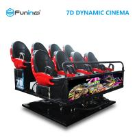 Wholesale 6 DOF Movement 8D / 9D / Xd Cinema / 5D Movie Theater Equipment from china suppliers