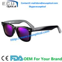 Wholesale New fashion 2014 hottest designer colored acetate sunglasses made in china from china suppliers