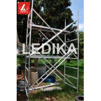 Quality Mobile Painting Scaffold Tower Plastering Working Bench Event Truss With Wheels for sale