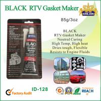 Wholesale High Temp Neutral Cure Silicone Sealant For Vehicle Body , Black Gasket Maker from china suppliers