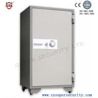 Wholesale 165L Fireproof safe box with Anti-burglary Handle Breaks Under Force Open for defense facilities from china suppliers