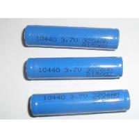 Wholesale Non-toxic 3.7V 320mAh 10440 Lithium Ion Ultra High Energy Density Rechargeable Batteries from china suppliers