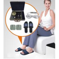 Quality Spanish Eyes Weak Magnetic Quantum Health Test Machine with Massage Shoes for sale