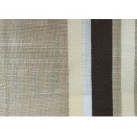Wholesale Washable Upholstery Polyester Blend Fabric , Plain Linen Fabric from china suppliers