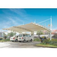 Wholesale Permanent Steel Structure Car Shelter Canopy Sunshade With PVDF Cover from china suppliers