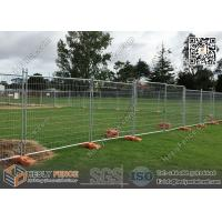 Wholesale AS4687-2007 Tempoary Fencing for Construction Site and Event | 2100X2400mm | Orange Color plastic Feet from china suppliers