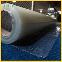 Wholesale Fire Retardant Carpet Masking Film , Plastic Carpet Protector Roll 20MIC Thick from china suppliers