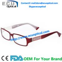 Wholesale Acetate eyeglasses frames high quality optical frame MOQ 300pcs meet CE/FDA BRP4020 from china suppliers