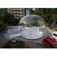 Wholesale OEM/ODM Inflatable Bubble Tent For You Enjoy 360 Degree Views from china suppliers