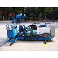 Wholesale Skid Mounted Portable Drilling Rigs , Jet Grouting Drilling Rig from china suppliers