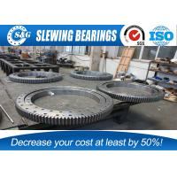 Wholesale Low Vibration Rotary Table Bearing , Stainless Steel Ring For Welding Operating Consoles from china suppliers
