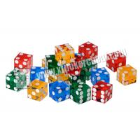 Wholesale Acrylic Customizable Sharp Magic Trick Dice Gambling Games Regular from china suppliers