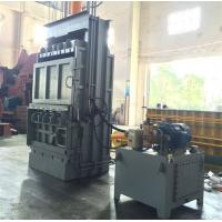 Wholesale Semi - Automatic Vertical Baler Machine For Cardboard Film Straw , Manual Valve Operation from china suppliers