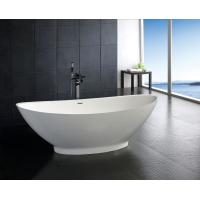 Wholesale contemporary Free Standing stone resin bathtub bathroom soaking tubs and showers from china suppliers
