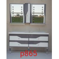 Wholesale double basin PVC Bathroom Cabinet / Bathroom Decoration Furniture 120X47X85/cm from china suppliers