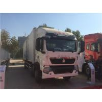Wholesale SINOTRUK HOWO 6*2 Drive Small Cargo Truck With Lorry Box Customized For Transportation from china suppliers