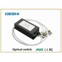 Wholesale 1x N Single mode Optical Switch Fiber Optics Components for telecommunications from china suppliers