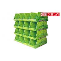 Wholesale FSDU Cardboard Pallet Display Stand , POP Yellow Cardboard Display Stands from china suppliers