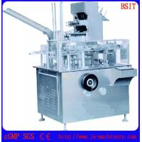 Quality Automatic bottle into box Cartoning Machine (BSM-125P) for various bottle used for  cosmetics, food , health care for sale