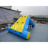 Wholesale Commercial 0.9mm PVC Tarpaulin Inflatable Big Air Slide / Blob For Water Park from china suppliers