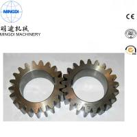 Wholesale Black Finished Carton Steel Metal Spur Gear For Equipment ISO9000 from china suppliers