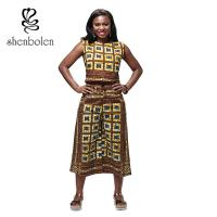 Wholesale Garment Dyed Adult Dashiki African Print Jumpsuit , African Inspired Jumpsuits from china suppliers