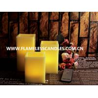 Wholesale Square Flameless Wax Battery Operated LED Candles with Remote Control Wholesale from china suppliers