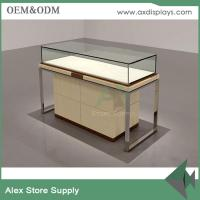 Wholesale manufacturer diamond display cabinet design glass counter for jewellery shop from china suppliers