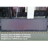 Wholesale Outdoor Bus Led Display For Mexico Touring Company , SMD2525 bus led sign from china suppliers