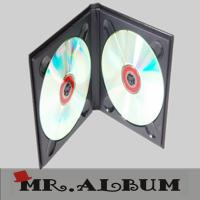 Wholesale DVD case with plain cover from china suppliers