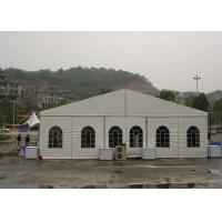 Wholesale Wind Resistant Trade Show Tents 15M X 30M Customized Clear span Fabric Structures from china suppliers