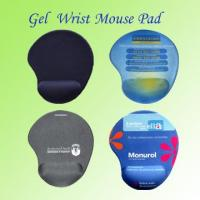 Quality Gel Wrist Rest Mouse Pad for sale