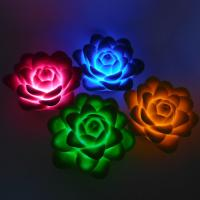 Buy cheap Flower Shaped PVC Vinyl Electronic Light Toys from wholesalers