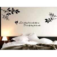 Wholesale Personalised Wall Flower Stickers G042, /Decal Wall Stickers /Wall Sticker Art /Floral Wall Stickers from china suppliers