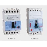 Buy cheap TDPX Model 3 Pole, 4 Pole Molded Case Circuit Breakers , MCCB, AC690V, 16A to 1600A from wholesalers