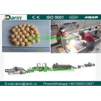 Wholesale Puffed Corn Onion Ring Snack Food Extruder Machine with CE Approved from china suppliers