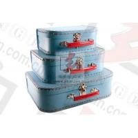 Wholesale Bule Printed Extra Large Gift Boxes With Lids Clothing Packaging from china suppliers