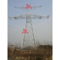 Wholesale 800KV Power Transmission line angular steel tower from china suppliers