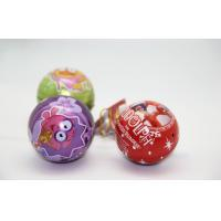 Wholesale Full Color Christmas Gift Tin Boxes For Packaging Ball Shaped FDA ROHS from china suppliers