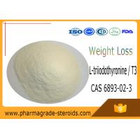 Wholesale CAS 6893-02-3 Pharmaceutical Raw Materials L-triiodothyronine / T3 for Weight Loss from china suppliers