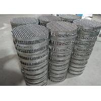 Quality Metal tower structured and random packing key internals of packed tower for sale