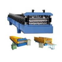 Wholesale PLC Control Roof / Wall Panel Color Steel Plate Roll Forming Machinery CE Approved from china suppliers