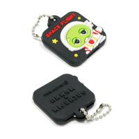 Wholesale Personalized Promotional Gifts For Clients 3D Soft PVC Rubber Keychain from china suppliers