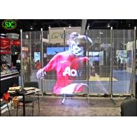 Wholesale Full Color Transparent Led Screen For Window Advertising , Glass Display Screen from china suppliers