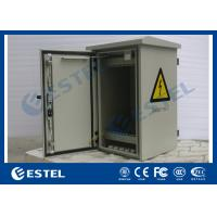 Wholesale 6U Double Wall Pole Mount Enclosure , 19 Inch Rack Cabinet Anti-Rust Paint from china suppliers